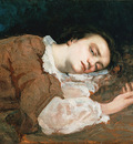 Courbet Gustave Study for Les Demoiselles des bords de la Seine Ete
