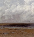 Courbet Gustave The Beach at Trouville at Low Tide