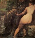 Courbet The Source detail