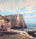 The Cliff at Etretat After the Storm CGF