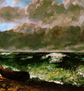 The Stormy Sea or The Wave WBM