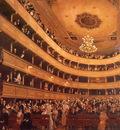 Auditorium in the Old Burgtheater Vienna