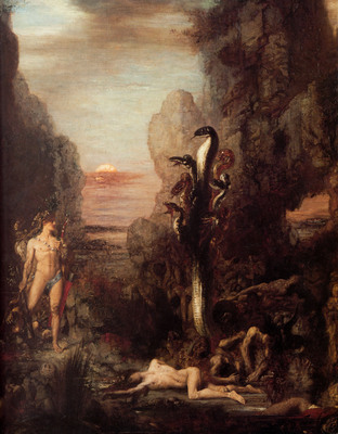 moreau hercules and the hydra