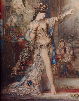 Moreau The Apparition detail