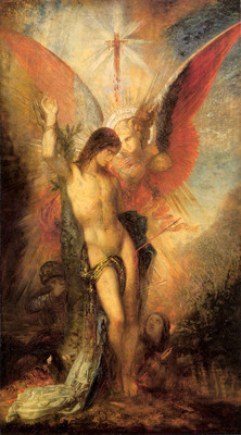 St Sebastian and the Angel