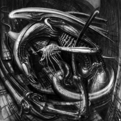 hr giger alienmonster IV
