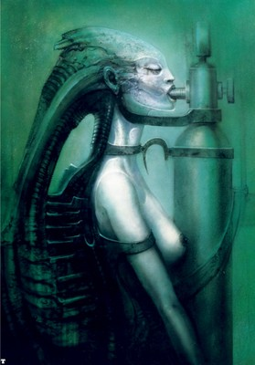 hr giger biomechanoid