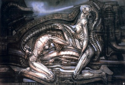 hr giger erotomechanics VII