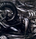 hr giger erotomechanics X
