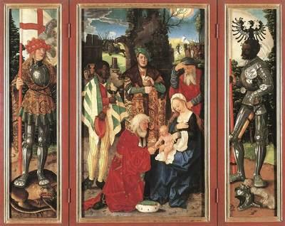 BALDUNG GRIEN Hans Adoration Of The Magi