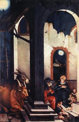 BALDUNG GRIEN Hans Nativity