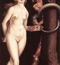 BALDUNG GRIEN Hans Eve The Serpent And Death