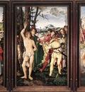 BALDUNG GRIEN Hans St Sebastian Altarpiece