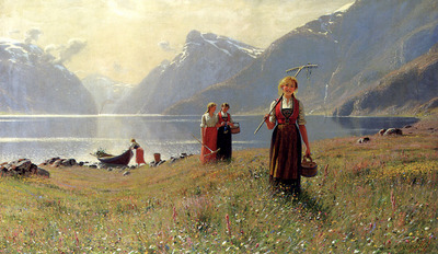 Dahl Hans A Summers Day