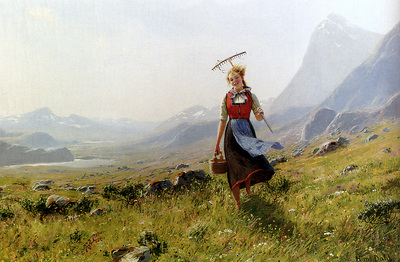 Dahl Hans In The Mountains