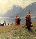 Dahl Hans A Summers Day