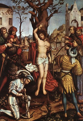 HOLBEIN Hans the Elder The Martyrdom Of Saint Sebastian
