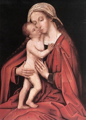 HOLBEIN Hans the Elder Virgin And Child