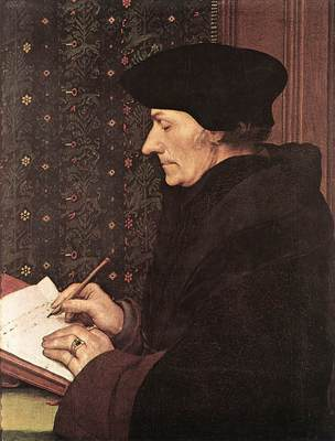 Holbien the Younger Erasmus