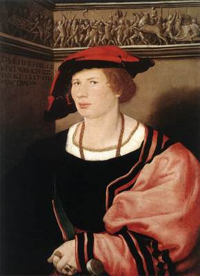Holbien the Younger Portrait of Benedikt von Hertenstein