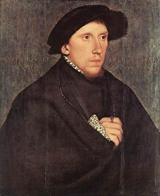 Holbien the Younger Portrait of Henry Howard the Earl of Surrey