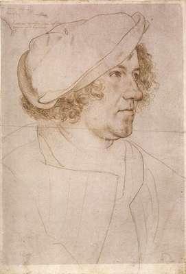 Holbien the Younger Portrait of Jakob Meyer zum Hasen