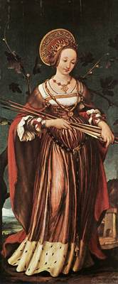Holbien the Younger St Ursula