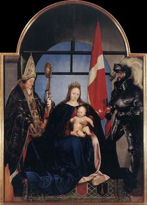 Holbien the Younger The Solothurn Madonna