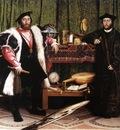 Holbien the Younger Jean de Dinteville and Georges de Selve The Ambassadors