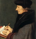 Holbien the Younger Portrait of Erasmus of Rotterdam Writing
