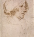 Holbien the Younger Portrait of Jakob Meyer zum Hasen