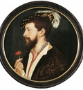 Holbien the Younger Portrait of Simon George
