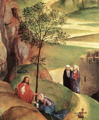 Memling Hans Advent and Triumph of Christ 1480 detail2
