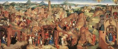 memling hans advent and triumph of christ