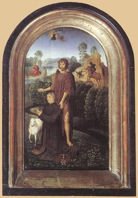 Memling Hans Diptych of Jean de Cellier c1475 II