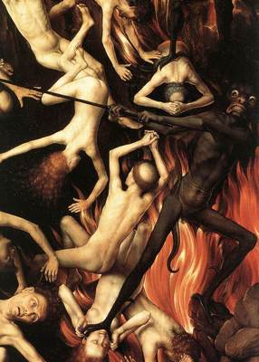 Memling Hans Last Judgment Triptych open 1467 1 detail10