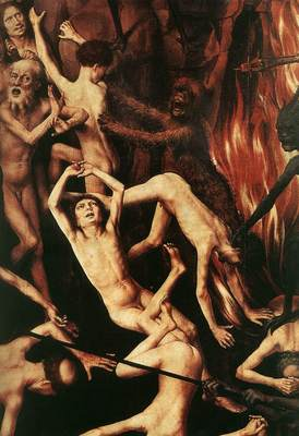 Memling Hans Last Judgment Triptych open 1467 1 detail11
