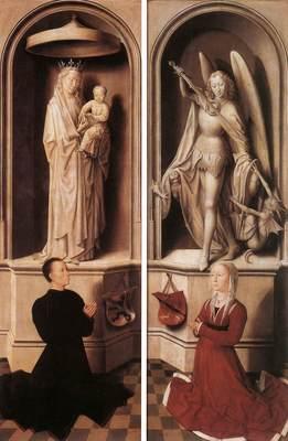 Memling Hans Last Judgment Triptych open 1467 1 detail13