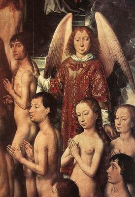 Memling Hans Last Judgment Triptych open 1467 1 detail2