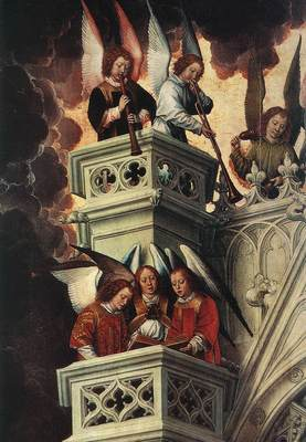 Memling Hans Last Judgment Triptych open 1467 1 detail3