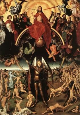 Memling Hans Last Judgment Triptych open 1467 1 detail4