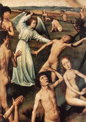 Memling Hans Last Judgment Triptych open 1467 1 detail8