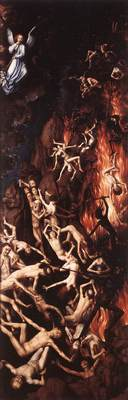 Memling Hans Last Judgment Triptych open 1467 1 detail9