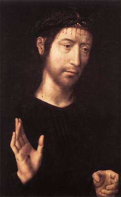 Memling Hans Man of Sorrows 1480s