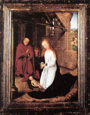 memling hans nativity 1470