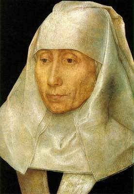 Memling Hans Portrait of an Old Woman