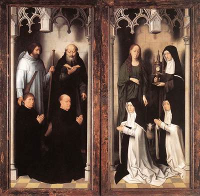 Memling Hans St John Altarpiece 1474 9 detail10 closed
