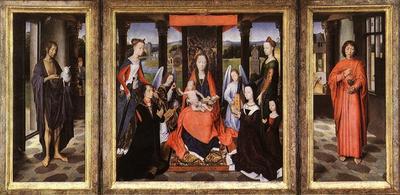 Memling Hans The Donne Triptych c1475