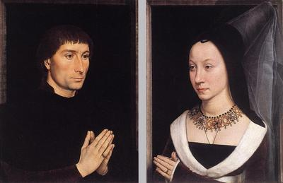 Memling Hans Tommaso Portinari and his Wife
