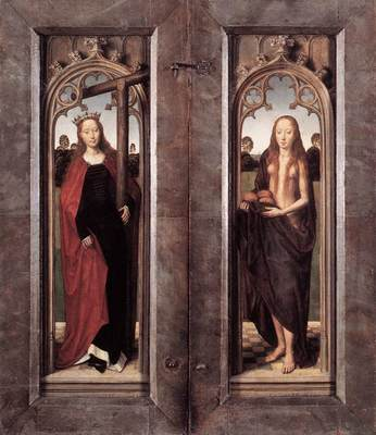 Memling Hans Triptych of Adriaan Reins 1480 detail4 closed